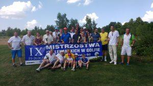 baner zwycięzcy Akademia golfa MP OIL